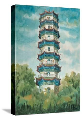 Chung-Shing Tower-Chuankuei Hung-Stretched Canvas Print