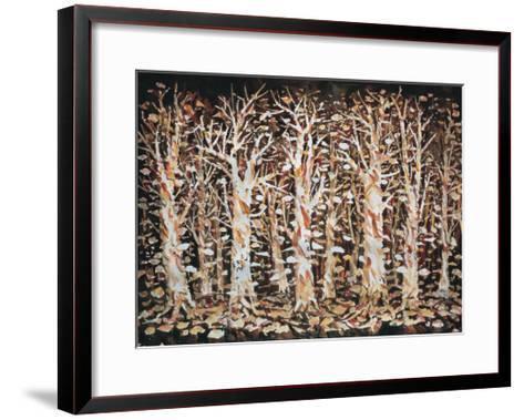 Return to the Root-Chuankuei Hung-Framed Art Print