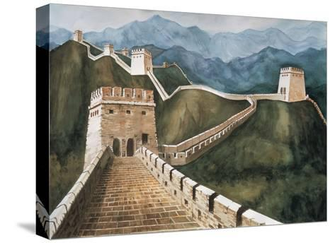 Long Wall-Chuankuei Hung-Stretched Canvas Print