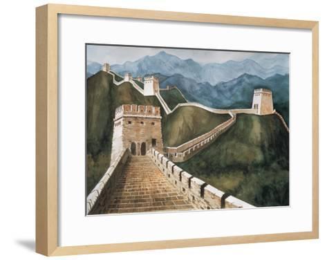 Long Wall-Chuankuei Hung-Framed Art Print