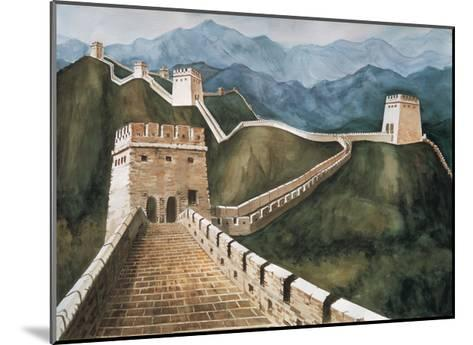 Long Wall-Chuankuei Hung-Mounted Giclee Print
