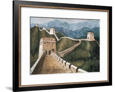 Long Wall-Chuankuei Hung-Framed Art Print