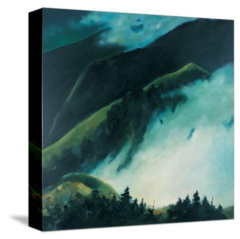 When Clouds are Rising from the Mountain-Pihua Hsu-Stretched Canvas Print