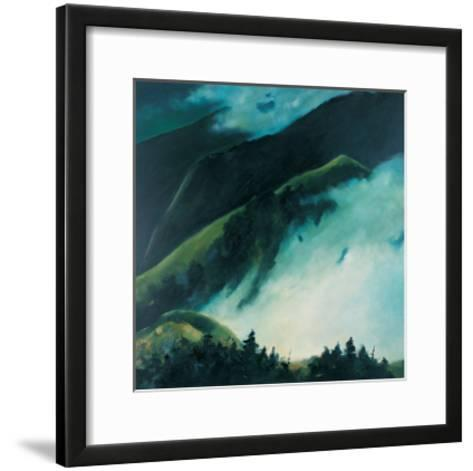 When Clouds are Rising from the Mountain-Pihua Hsu-Framed Art Print