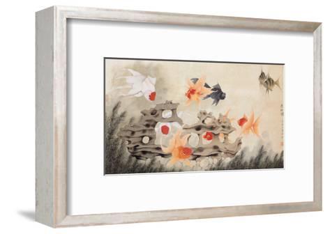 Nine Fish-Hsi-Tsun Chang-Framed Art Print
