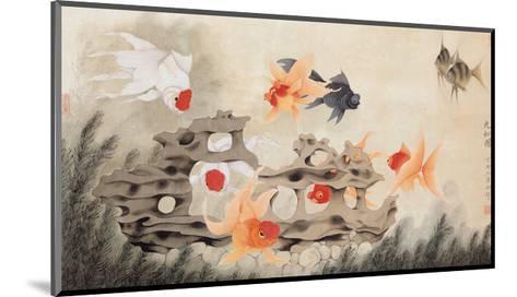 Nine Fish-Hsi-Tsun Chang-Mounted Giclee Print