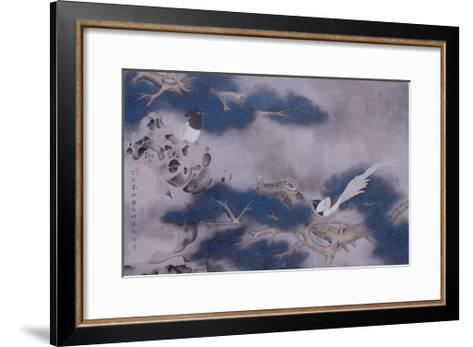 Birds on Pine Tree-Hsi-Tsun Chang-Framed Art Print