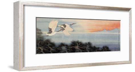 Flying at Dawn-Hsi-Tsun Chang-Framed Art Print