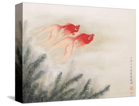 Twin Fish-Hsi-Tsun Chang-Stretched Canvas Print