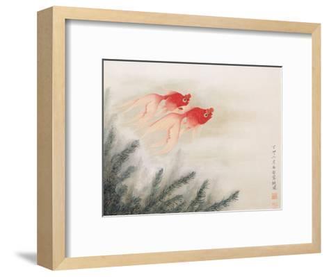 Twin Fish-Hsi-Tsun Chang-Framed Art Print
