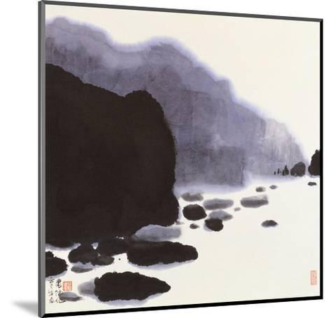 Rocky Brook-Chingkuen Chen-Mounted Giclee Print