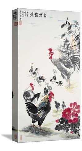 Chicken Family-Guozen Wei-Stretched Canvas Print