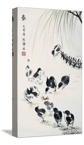 Spring-Guozen Wei-Stretched Canvas Print