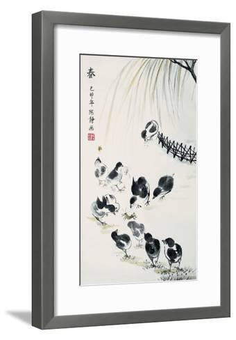 Spring-Guozen Wei-Framed Art Print
