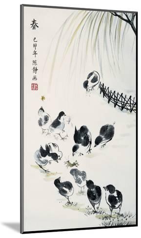 Spring-Guozen Wei-Mounted Giclee Print