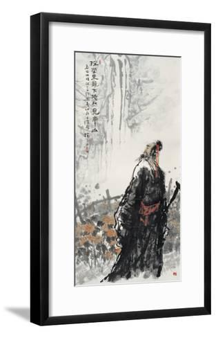 Poet's Country Life-Shuli Wang-Framed Art Print