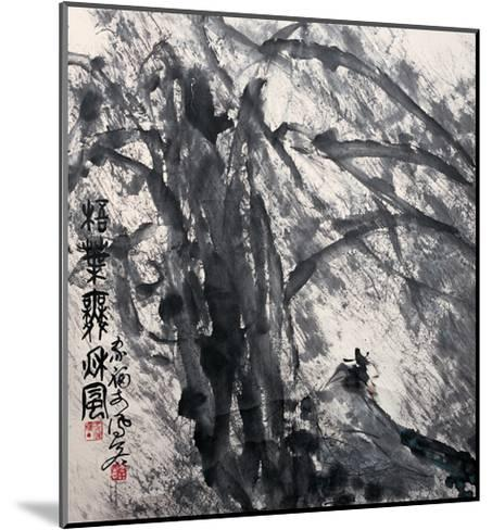 Phoenix Tree in the Wind-Deng Jiafu-Mounted Giclee Print
