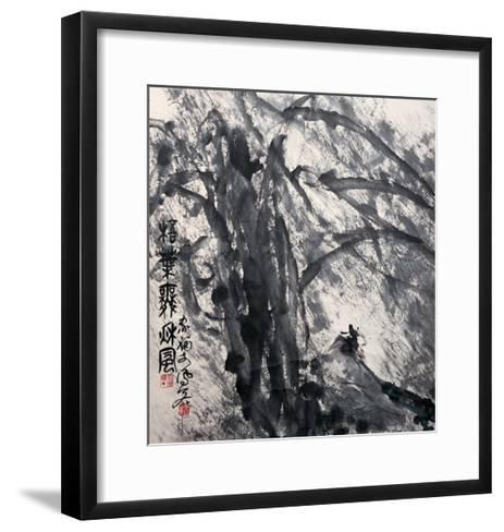 Phoenix Tree in the Wind-Deng Jiafu-Framed Art Print