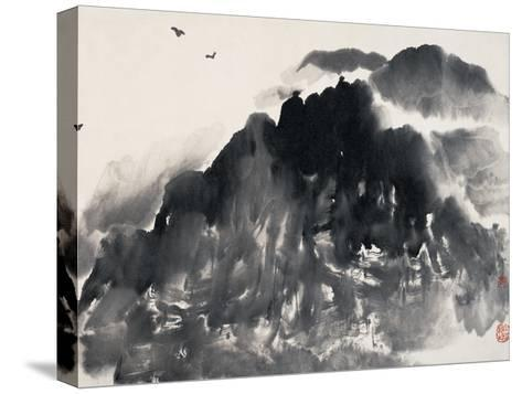 In the Mountain-Deng Jiafu-Stretched Canvas Print