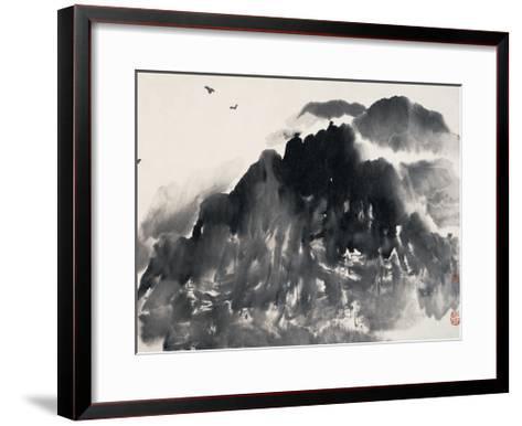 In the Mountain-Deng Jiafu-Framed Art Print