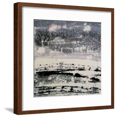 Snow-Yunlan He-Framed Art Print