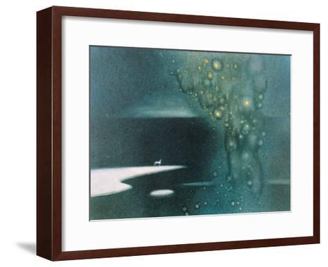 Stars from Sky to River-Yunlan He-Framed Art Print