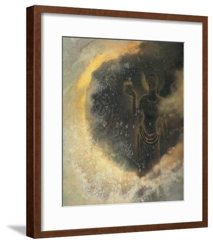 Deity-Yunlan He-Framed Art Print