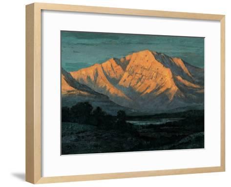 Valley in Colorado-Yunlan He-Framed Art Print