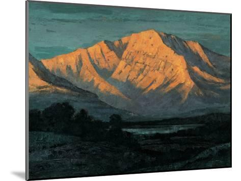 Valley in Colorado-Yunlan He-Mounted Giclee Print