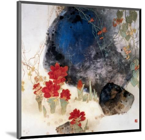 Plants by the Rocks-Minrong Wu-Mounted Giclee Print