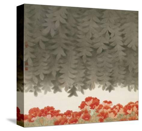 Under the Tree-Minrong Wu-Stretched Canvas Print