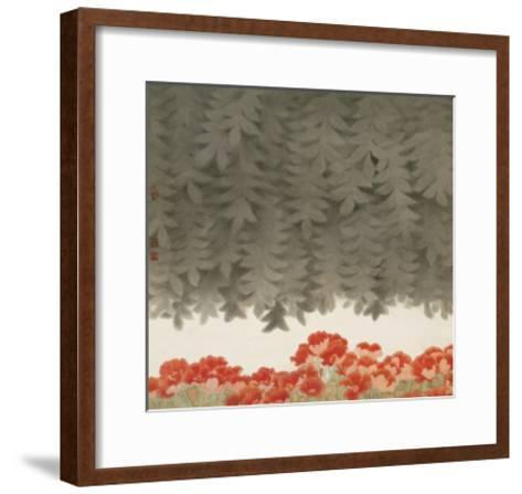 Under the Tree-Minrong Wu-Framed Art Print