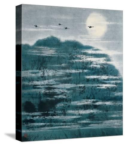 Sky in River-Baogui Zhang-Stretched Canvas Print