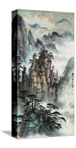 Mt. Huang No. 24-Zishen Zhang-Stretched Canvas Print