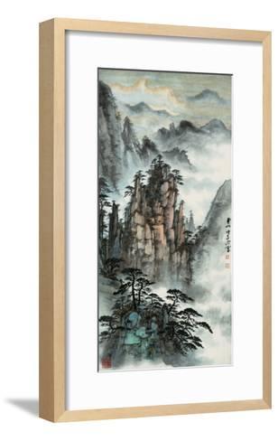 Mt. Huang No. 24-Zishen Zhang-Framed Art Print