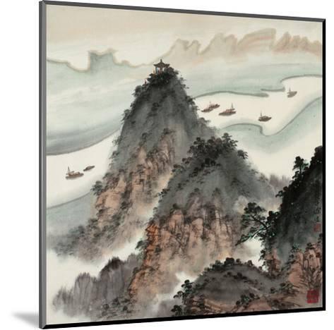 Poetic Li River No. 13-Zishen Zhang-Mounted Giclee Print