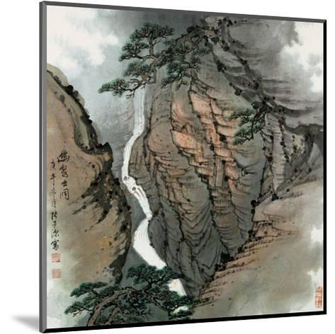 Visiting the Cave No. 18-Zishen Zhang-Mounted Giclee Print