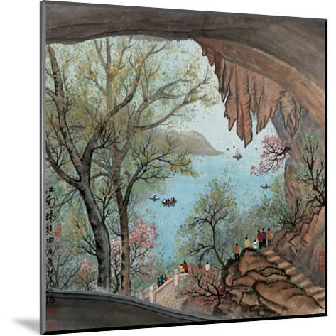 Visiting the Cave No. 22-Zishen Zhang-Mounted Giclee Print