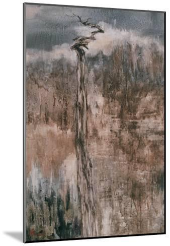 Tree's Spirit and the Reflection-Wanqi Zhang-Mounted Giclee Print