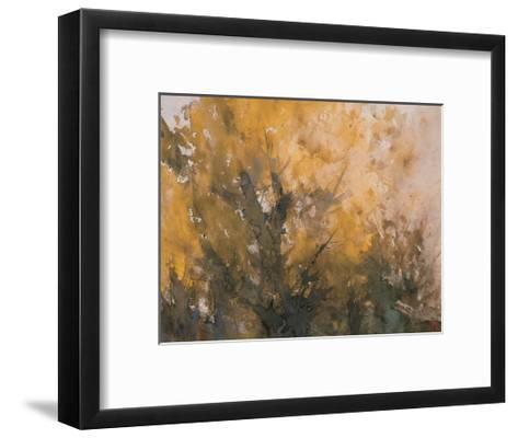 Trees in Autumn-Wanqi Zhang-Framed Art Print