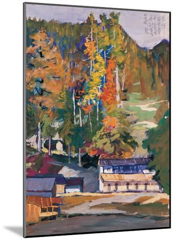 Old House in Woods-Zui Chen-Mounted Giclee Print