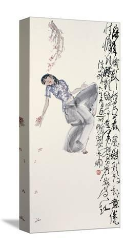 Woman in Leisure-Zui Chen-Stretched Canvas Print