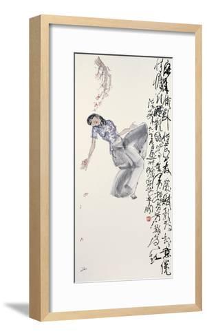 Woman in Leisure-Zui Chen-Framed Art Print