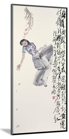 Woman in Leisure-Zui Chen-Mounted Giclee Print