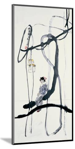 Woman on a Swing-Zui Chen-Mounted Giclee Print