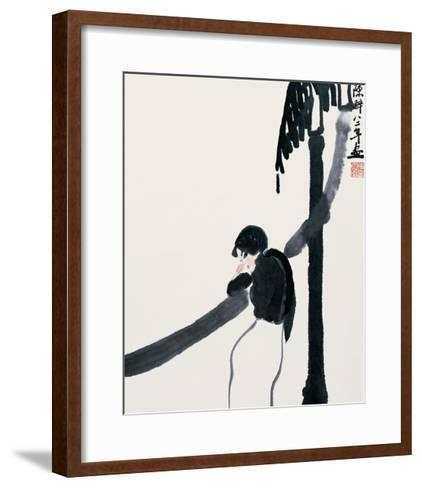 Expecting the Moon-Zui Chen-Framed Art Print