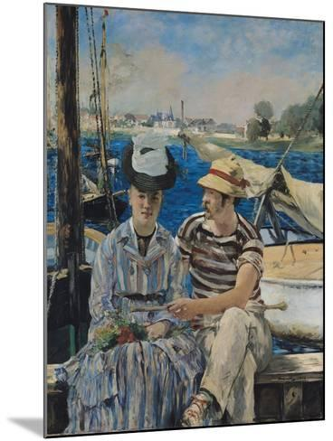 Argenteuil, 1874-Edouard Manet-Mounted Giclee Print