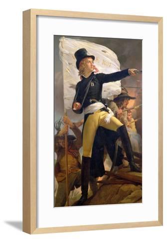 Henri De La Rochejaquelein (1772-94), Leader of the Revolt in the Vendee, 1817-Pierre Narcisse Gu?rin-Framed Art Print