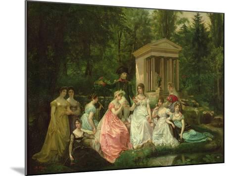 The Rose of Malmaison, circa 1867-Jean Louis Victor Viger du Vigneau-Mounted Giclee Print