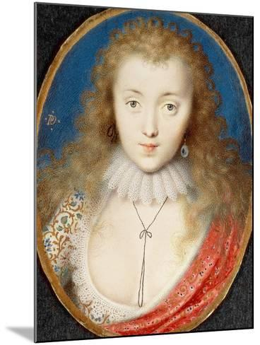 Portrait of a Girl, Probably Venetia Stanley (1600-1633), Later Lady Digby-Peter Oliver-Mounted Giclee Print